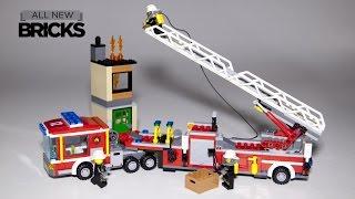 getlinkyoutube.com-Lego City 60112 Fire Engine Speed Build