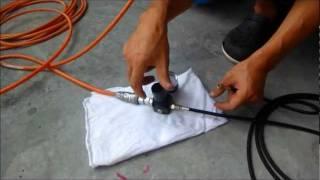 getlinkyoutube.com-エアーブラシ専用コンプレッサーでなくてもエアーブラシ作業は出来ます。