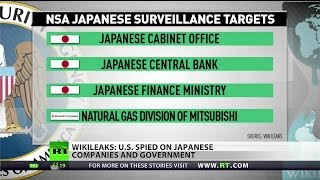 WikiLeaks exposes US spying on Japanese politicians, businesses
