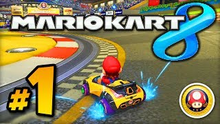 getlinkyoutube.com-Mario Kart 8 GAMEPLAY - Part #1 w/ Ali-A! - Mushroom Cup 150cc (MK8 Wii U)