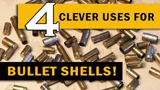 getlinkyoutube.com-4 Clever Uses for BULLET SHELLS!