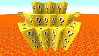 getlinkyoutube.com-Minecraft LUCKY BLOCK LAVA WARRIORS! with Preston & Friends! (Minecraft Mods)