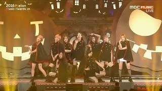 getlinkyoutube.com-2016 MMA(Melon Music Awards) TWICE CHEER UP+TT