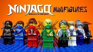 getlinkyoutube.com-LEGO Ninjago Rebooted Masters of Spinjitzu KnockOff Minifigures Set 2 (Bootleg)