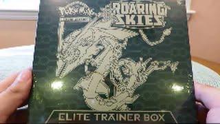getlinkyoutube.com-Opening the BEST Pokemon Roaring Skies Elite Trainer Box! EPIC Pulls!