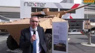 getlinkyoutube.com-VBCI Nexter CTA 40 40 mm turret weapon system IDEX 2015 defense exhibition