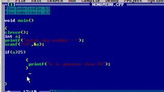 Beginner C tutorial - if else statement