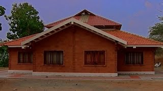 getlinkyoutube.com-Low cost housing with bricks by Architect R.K. Ramesh | Shell house, hollow blocks, Hourdes