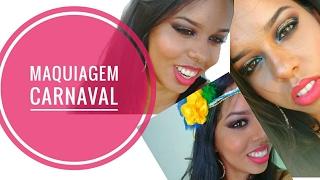 getlinkyoutube.com-Maquiagem para noite Carnaval 2017