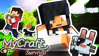 getlinkyoutube.com-CUTEST PETS EVER! | MyCraft Minecraft Survival | Part 2