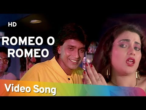 Romeo O Romeo - Mithun Chakraborty - Mandakini - Dance Dance - Bollywood Hit Songs - Alisha Chinoy