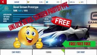 getlinkyoutube.com-Asphalt 8 Airborne how to unlock free Devel Sixteen Prototype (HINDI)