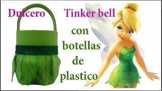 getlinkyoutube.com-DULCERO DE TINKER BELL CON BOTELLAS DE PLASTICO