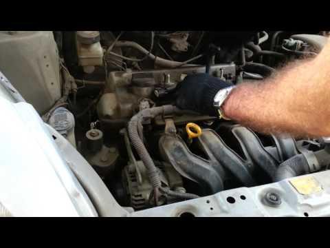 Замена свечей на двигателе 1NZ 2NZ Toyota Vits Auris Platz Ist Funcargo своими руками