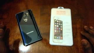 getlinkyoutube.com-Samsung Galaxy Note 5 Tempered Glass - Review (BS Alert)