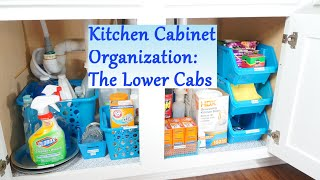 Kitchen Cabinet Organization Ideas: The Lower Cabs