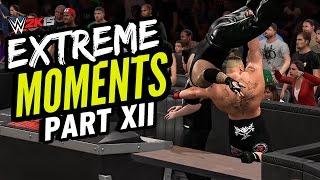 getlinkyoutube.com-WWE 2K15 EXTREME MOMENTS! XII