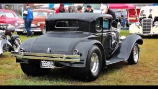 getlinkyoutube.com-Karb Kings Rockabilly Hot Rod Rumble 2013 Kustom Car Show