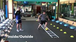 Agility Ladder Training with a Soccer Ball