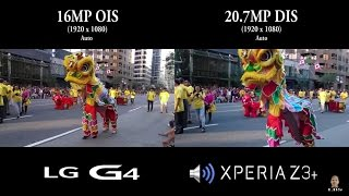 getlinkyoutube.com-Sony Xperia Z3+/Z3 Plus vs LG G4 - Back Camera Test Battle (Canada Day 2015)