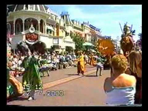 Three Fairy and Disney Parade in Paris, France Saturday 22 July 2000.