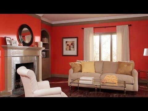 Cómo pintar una habitación con varios colores