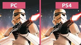 getlinkyoutube.com-Star Wars: Battlefront – PC Ultra vs. PS4 Graphics Comparison (Beta) [FullHD][60fps]