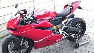 2017 DUCATI 959 PANIGALE, Parts I've added from the Ducati Performance Range and Evotech