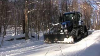 getlinkyoutube.com-Snowmobile Trail Grooming