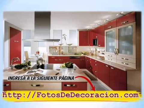 Muebles para Cocinas [Decoración de Cocinas Modernas]