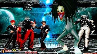 getlinkyoutube.com-Kof Mugen Omega Rugal Boss (Me) VS Kyouki & Stone Orochi