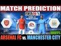 Arsenal vs. Manchester City Match Prediction Fecha #4 EPL - FIFA 14