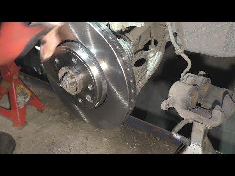 Где находятся у Chevrolet Aveo задние тормозные диски
