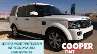 LLUMAR PAINT PROTECTION - 14 LAND ROVER lL4