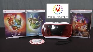getlinkyoutube.com-ViewMaster Virtual Reality Starter Pack and Expansions from Mattel