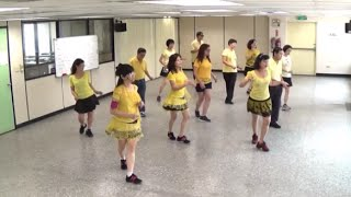 getlinkyoutube.com-Rivers Of Babylon (by John B. & Karen W.) - line dance (demo & walk through) = 巴比倫河  - 排舞(含導跳)