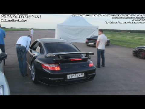 1080p: 9ff 911 GT2 4WD 1000 HP and 9ff 911 GT3RS 1200 HP launching and in detail