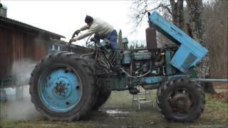 getlinkyoutube.com-Belarus MTZ-82 restoration project. Part 1