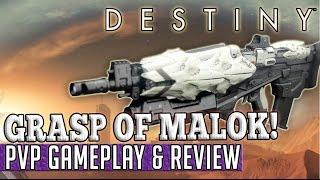 getlinkyoutube.com-Destiny | GRASP OF MALOK! - PvP Gameplay & Review!