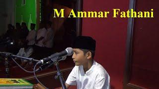 getlinkyoutube.com-Pembukaan dan Tilawah M. Ammar Fathani pada MTQ 34 Banda Aceh
