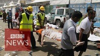 getlinkyoutube.com-Hajj stampede: At least 717 killed in Saudi Arabia - BBC News