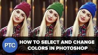 How To Select and Change Colors In Photoshop - Replace Colors In a Photo