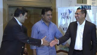 Minister KTR announced KEF Infra company  with an investment of 600 Crores.