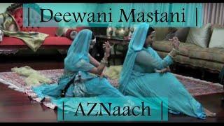 getlinkyoutube.com-Deewani Mastani Dance | Bajirao Mastani | - AZNaach | Aaliya & Zuena