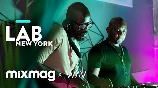 BLACK-COFFEE-and-THEMBA-in-The-Lab-NYC-DJ-set width=