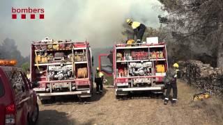 Incendi forestal a Artés
