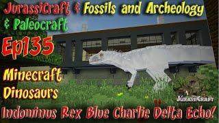 getlinkyoutube.com-Indominus Rex JurassiCraft 2.0 Jurassic World Ep135 IREX Blue Charlie Delta Echo Apatasaurus