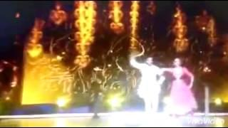 getlinkyoutube.com-رقص كوشي وشريكها في  جالاك على اغنيه بصوت عليا بها