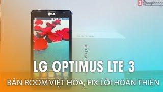 getlinkyoutube.com-LG Optimus LTE 3 - Bản Rom Việt Hóa, Fix lỗi