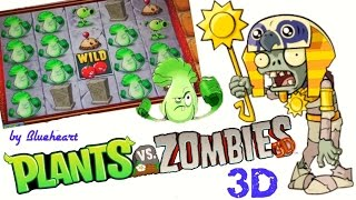 getlinkyoutube.com-PLANTS vs ZOMBIES 3D slot machine LIVE PLAY and FUN BONUS BIG WINS!